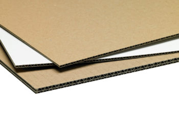 Corrugated cardboard sheeting and packaging